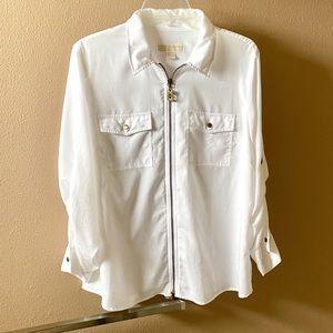 💥3/$15 Michael Kors White Long Sleeve